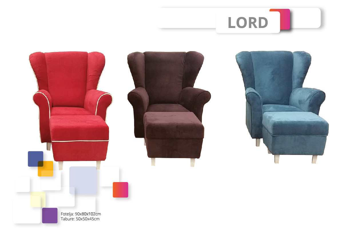 Lord Armchairs Furniture Factory Numanovic